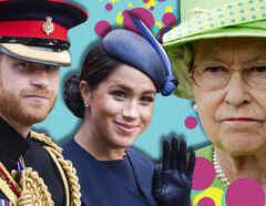 Príncipe Harry y Meghan Markle, Reina Isabel II