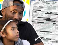 Kobe Bryant acta de defunción 1