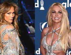 Jennifer Lopez y Britney Spears