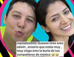 Edwin Luna burlas Kimberly Flores Cantante