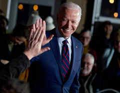 El exvicepresidente Joe Biden, en una imágen del pasado enero.