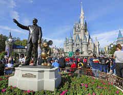 Walt Disney World de Orlando, Florida.