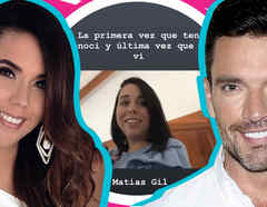 Hija Julián Gil mensajes Matías