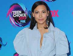 Naya Rivera en Teen Choice Awards 2017 en Los Ángeles