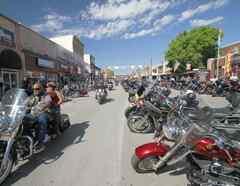 Motociclistas Sturgis, Dakota del Sur.