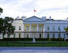 La Casa Blanca este sábado 19 de septiembre, cuando funcionarios dieron a conocer que fue interceptado un sobre dirigido a Trump con veneno de ricina.