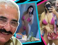 Vicente Fernández Jr novia twerking