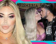 Barbie humana con el novio besos 2