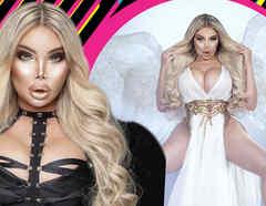 Barbie humana como un ángel