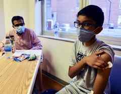 Ensayos de la vacuna contra el coronavirus.