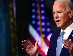 El presidente electo, Joe Biden, presenta a sus nominados y nombramientos clave en política exterior y seguridad nacional en el Queen Theatre el 24 de noviembre de 2020 en Wilmington, Delaware.