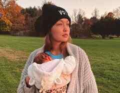 Gigi Hadid y su bebé