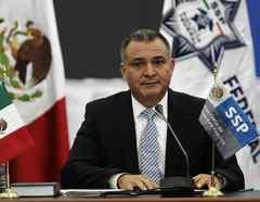 El exministro de Seguridad Pública de México, Genaro García Luna