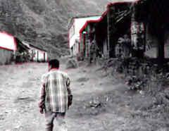 Pueblo fantasma en Bolivia