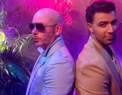 """JENCARLOS Y PITBULL LANZAN TEMA Y VIDEO MUSICAL """"COSITA LINDA"""""""