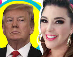 Alicia Machado vs Trump foto