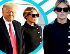 Melania Trump look cambio