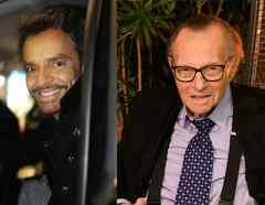 Eugenio Derbez y Larry King