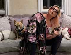 Lady Gaga y sus mascotas
