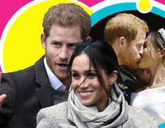 Meghan y Harry boda 3 días antes