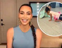 Kim Kardashian, Chicago, True y Stormi