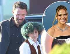 Ben Affleck, Jennifer Lopez y la hija de la cantante, Emme
