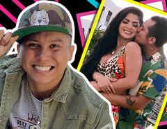 """Edwin Luna defiende su amor por Kimberly Flores y le reviran: """"Quiérete un poco"""""""