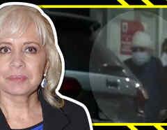 Carla Estrada termina con la cabeza ensangrentada tras sufrir accidente