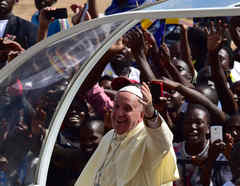 papa francisco africa