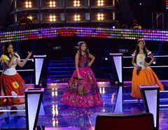 Magallie Nicole Sofia ronda de batallas La Voz Kids 2016