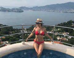 Aracely Arámbula en bikini