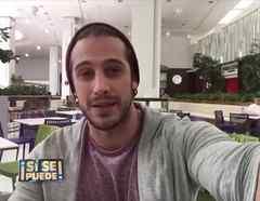 Lambda García en un selfie video para Sí Se Puede
