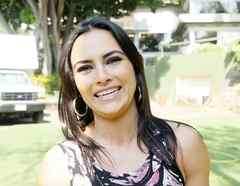 Julieta Grajales en El Chema