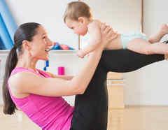 Yoga con bebé