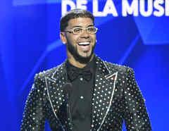 Anuel AA en Premios Billboard 2019