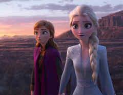 Elsa y Anna en Frozen 2