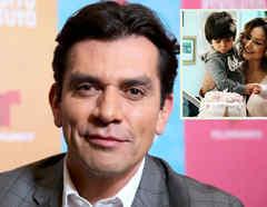 Jorge Salinas y sus hijos
