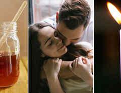 Collage ritual del amor