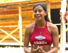 Shaila habla en entrevista en La Cabaña