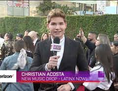 Christian Acosta en New Music Drop desde Hollywood