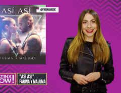 """Claudia Vergara en New Music Drop 8 y portada de """"Así Así"""" de Farina y Maluma"""