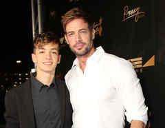 William Levy y su hijo Christopher
