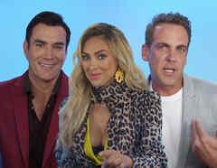 Aracely Arámbula, Carlos Ponce, David Zepeda, elenco de la Doña
