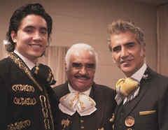 Alejandro, Vicente y Alejandro Fernández Jr.
