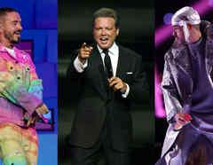 J Balvin, Luis Miguel y Bad Bunny
