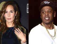 Martha Cristiana y Jay Z