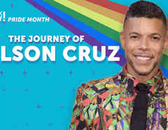 Wilson cruz journey, Pride Month, Latinx Now!