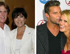 Bruce y Kris Jenner