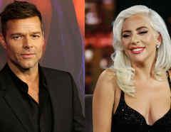 Ricky Martin y Lady Gaga