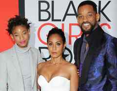 Jada Pinkett, Will Smith, Willow Smith